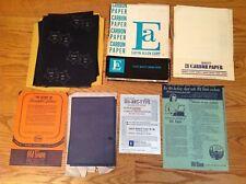 VINTAGE 1972 EATON ALLEN CORP OLD TOWN PRODUCTS CARBON PAPER 8.5 x 11.5 / 6 x 9