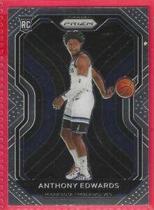 2020-21 Panini Prizm Anthony Edwards Rookie RC #258 Minnesota Timberwolves