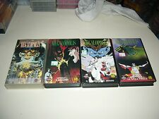 VHS MEGALOPOLIS COMPLETO ANIME INEDITO DVD MANGA DYNAMIC YAMATO OAV OVA HENTAI
