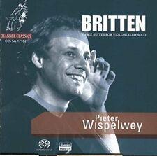 Pieter Wispelwey - Britten  Three Solo Cello Suites [Hybrid SACD]