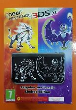 Console New Nintendo 3ds xl Solgaleo & lunala LIMITED EDITION PAL - NEW - RARE