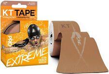 "KT Tape Pro Extreme 10"" Precut Kinesiology Sports Roll - 20 Strips - Titan Tan"