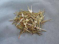 50 ARROW CONNECTOR PINS 33 mm GOLD CHANDELIER PARTS LAMP CRYSTAL PRISM BEAD