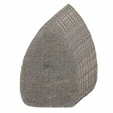 10x 140mm 40 80 120 Grit Hook Loop Silicon Mesh Detail Triangle Sanding Sheets