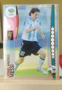 Messi Fifa World Cup Germany 2006 Rookie #47