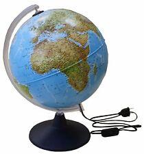 Idena 569902 - Leuchtglobus 30 cm mit Halogen, Globus, Weltkarte Leuchte NEUWARE