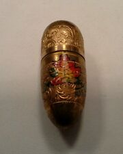 Antique German Germany Guilloche Sewing Kit Gold Filled ?