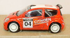 NOREV 3 INCHES 1/60 CITROEN C2 SUPER 1600 RALLYE #4 225 CV 185 KM/H NO BOX