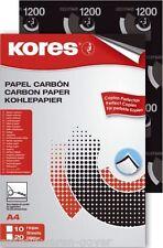 1 Pck (Inhalt 10 Bogen) Kohlepapier, Durchschreibepapier, Pauspapier DIN A4