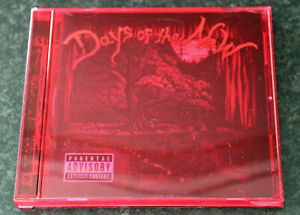 Days Of The New III 3 Red CD 2001 Travis Meeks Tantric Alice In Chains UK SELLER