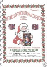 """CHILDS ACCORDION """" XMAS CAROLS/ SONGS BOOK,"""" AGE 7 UP, EASY  PLAY BY NUMBERS"""