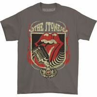 Rolling Stones Men's  40 Licks T-shirt Charcoal