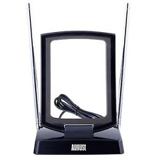 August DTA280 - Freeview TV Aerial with LTE Filter - Portable Antenna for Ind...