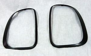 Mini OEM R60 Countryman Black-Line Slate Gray Taillight Finisher Pair Brand New