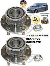 Pour Mazda Premacy 1.8i 2.0i 2.0DT Td 1999-12 / 2004 2x Roulement Roue Arrière
