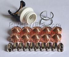 0408-2267 2053 2404 2261 Plasma Electrode Nozzle Kit fit Saf 100 PLAZCUT 22pcs