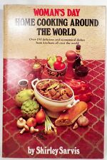Womans Day Home Cooking Around the World Cookbook 1978 Ethnic Recipes Vintage