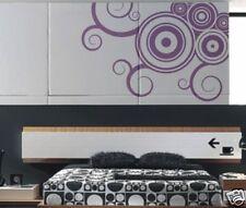 Design Swirl Adesivo Da Muro Murale Decorazione Parete S9 Corridoio - 52cm