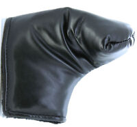New Deluxe Leatherette Putter Cover Golf Headcover