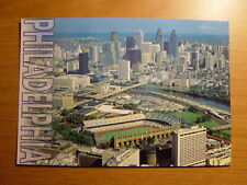 Franklin Field Stadium Postcard Pennsylvania Quakers
