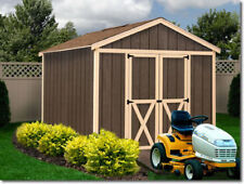 Best Barns Danbury 8x12 Wood Storage Shed Kit - All Pre-Cut