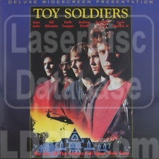 TOY SOLDIERS - New LaserDisc EUROPE FREEPOST mmoetwil@hotmail.com