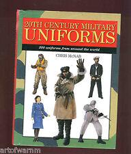 20th CENTURY MILITARY UNIFORMS by Chris McNab HB/dj  VG/VG  st