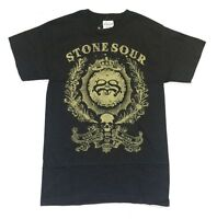 Stone Sour Made Of Scars Ornate Logo Black T Shirt New Official Corey Taylor