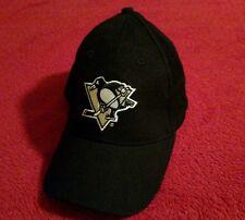 Pittsburgh Penguins Black Dream Fit Ball Cap Size M/L