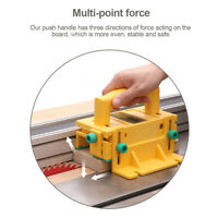 Safety Pushblock Woodworking Tool for Table Saws Router Tables Band Saw nw