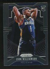 2019-20 Panini Prizm #248 Zion Williamson Pelicans RC Rookie