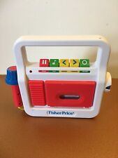 Fisher Price Tape Cassette Player Recorder with Microphone 2017 EUC Classic Toys