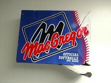 MacGregor 12 balls Softballs (1 DOZEN)