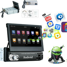"""1Din Android 9.0 7"""" 1080P Car Player Stereo Radio GPS Wifi Quad-Core Mirror Link"""