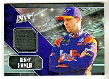 2018 Panini Fathers Day Racing DRIVER WORN HAT RELIC #DH DENNY HAMLIN NASCAR