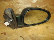 DAEWOO NUBIRA 00-02  POWER MIRROR PASSENGER RH RIGHT HEATED DARK GREEN