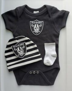 Raiders baby/infant clothes Raiders baby shower gift Raiders newborn