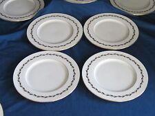 China Salad Plate Lenox Golden Wreath Porcelain 8.25 Inch