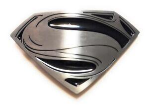 ✖ MAN OF STEEL SUPERMAN vs BATMAN ~ Belt Buckle silver color Full metal MOVIE