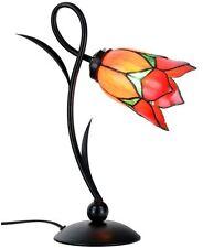 """TIFFANY-Tischlampe """"LOVELY TULIP"""". NEU Glas Licht Beleuchtung"""
