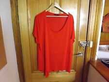 Piper Woman Red Top ~ BRAND NEW / UNWORN ~ Size L or 20 or 22