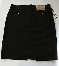 D&G Dolce & Gabbana Womens Skirt Size 26 antique look NWT Gift for Her