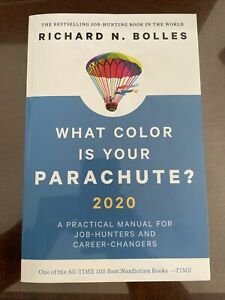 What Color Is Your Parachute 2020 By Richard Bolles Paperback