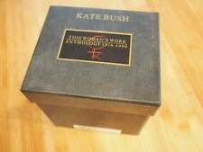 Rare KATE BUSH This Woman's Work: Anthology x8 CD Albums 1990 UK BOX SET EMI
