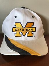 6e00d80a0aa Vintage 90s Starter Michigan Wolverines Wool Cap Hat Snapback The Classic