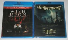 Horror Blu-ray Lot - Wish Upon (New) The Innkeepers (New)