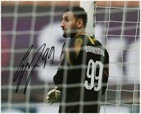Foto Autografata Calcio Gianluigi Donnarumma Soccer Sport Signed Photo
