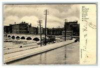 Erie Canal Aqueduct over the Genesee River, Rochester NY c1907 Postcard I8