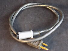 """Electrical cable 3 prong male plug to 3 pin DIN Female barrel connector 36"""" long"""
