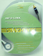 Straightwire INFO-Link RCA Pure Silver Coaxial Digital Audio Cable 1.5 Meter